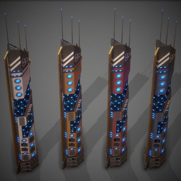 Sci-Fi Building 18 - 3DOcean Item for Sale