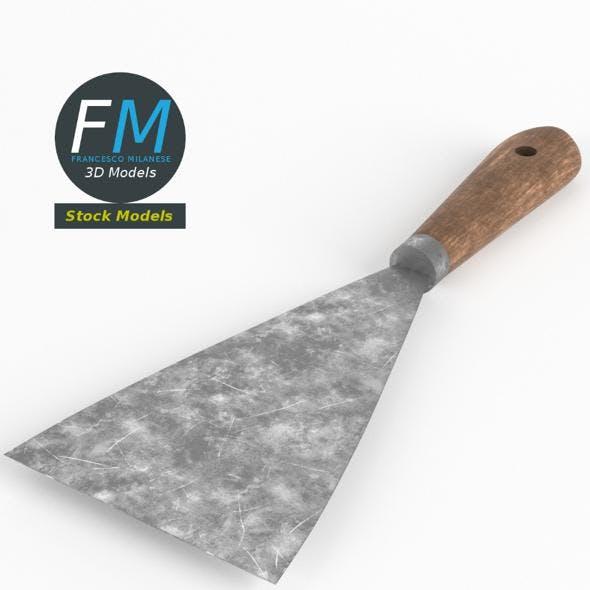 Mason spatula - 3DOcean Item for Sale