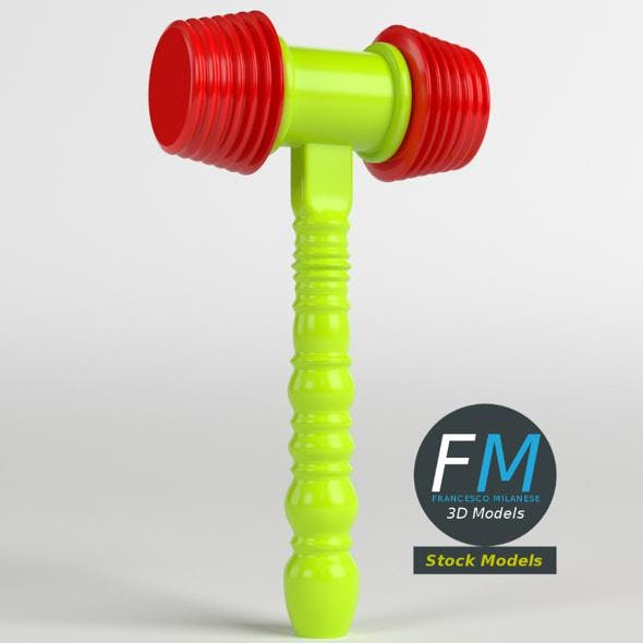 Toy hammer - 3DOcean Item for Sale