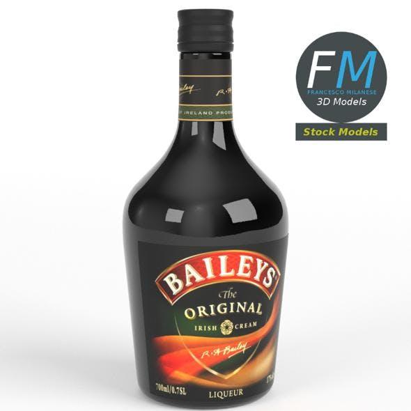 Baileys Irish cream whiskey - 3DOcean Item for Sale