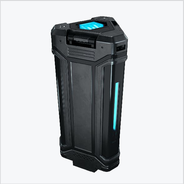 Sci-fi energy cell