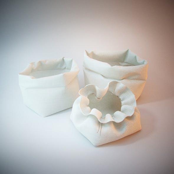 Kitchen baskets - 3DOcean Item for Sale