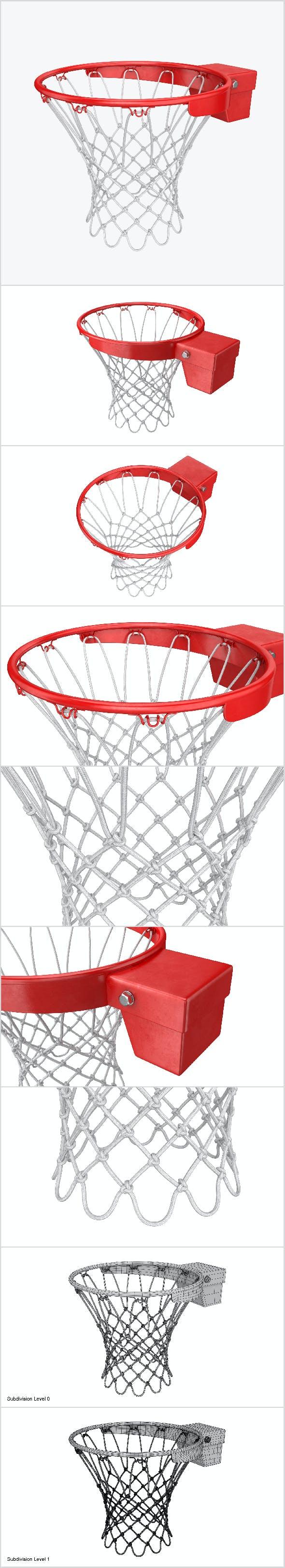 Basketball rim - 3DOcean Item for Sale