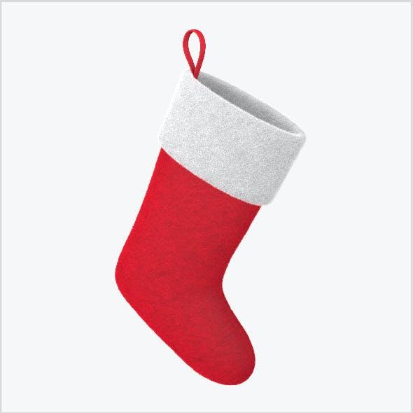 Christmas sock VrayFur