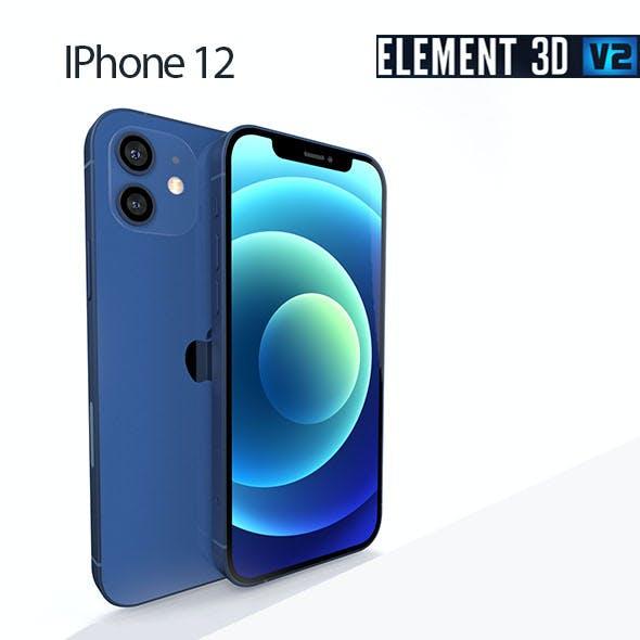 Apple IPhone 12 - Element 3D