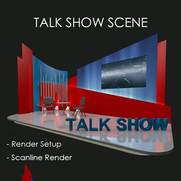 Talk Show Scene