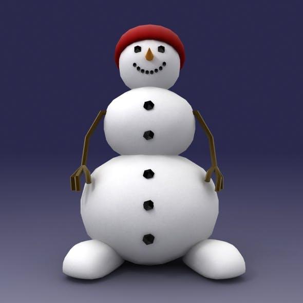 Snowman character
