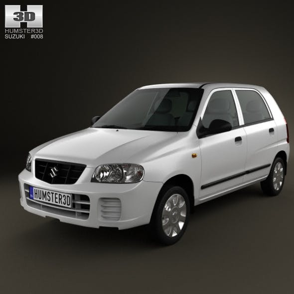 Suzuki (Maruti) Alto 2012 - 3DOcean Item for Sale