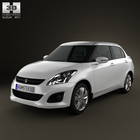 Suzuki (Maruti) Swift Dzire sedan 2012 - 3DOcean Item for Sale