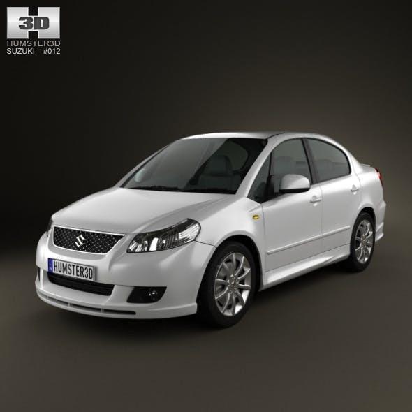 Suzuki (Maruti) SX4 sedan 2012 - 3DOcean Item for Sale