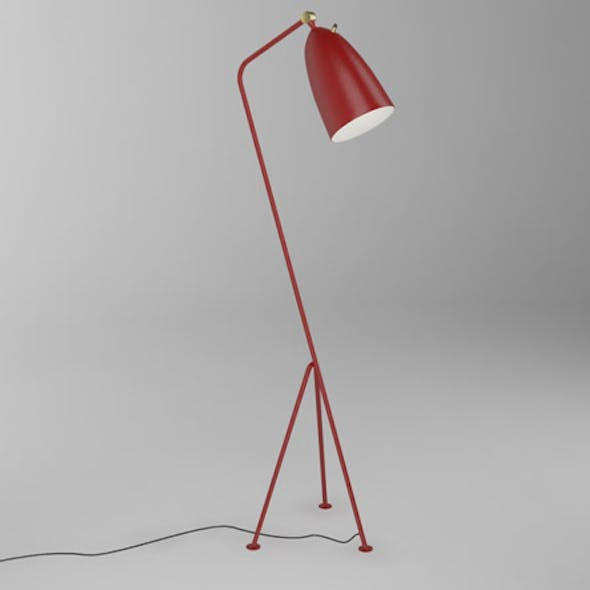 Grasshopper floor lamp - Greta Grossman