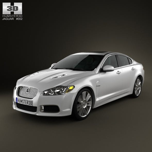 Jaguar XFR 2011 - 3DOcean Item for Sale