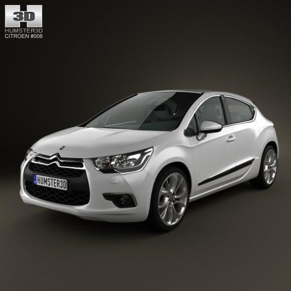 Citroen DS4 2012 - 3DOcean Item for Sale