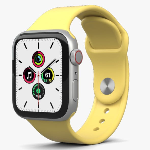 Apple Watch SE 40mm Aluminum Silver