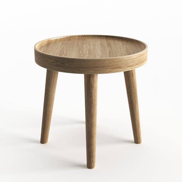 Simple Wood Side Table