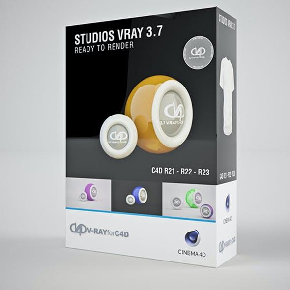 Color Studio Vray 3.7 C4D R20 / R21 / R22 / R23