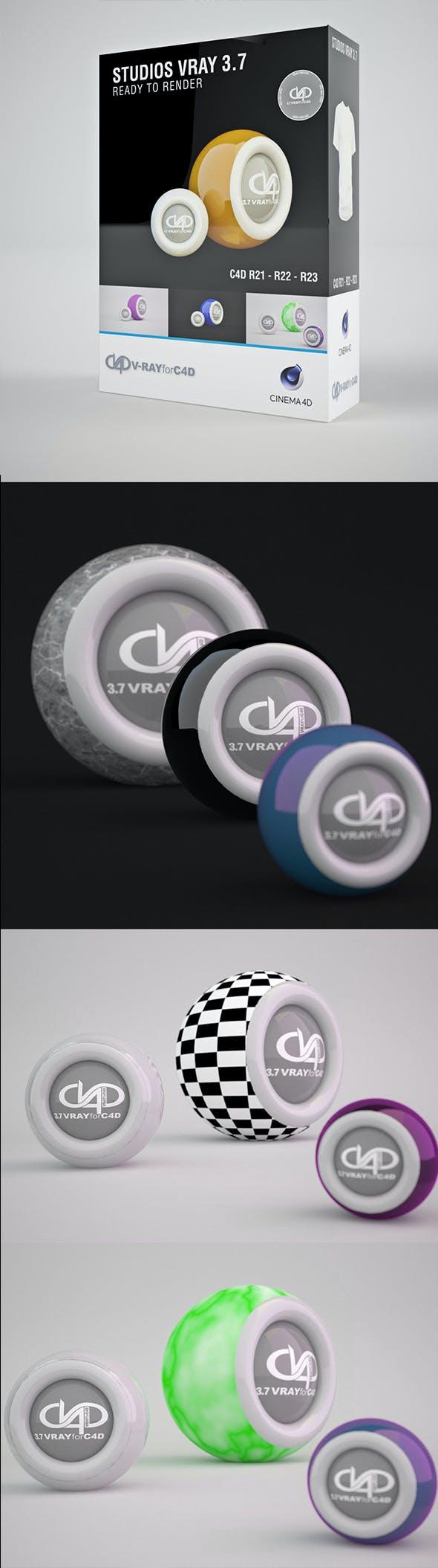 Dof Studio Vray 3.7 C4D R20 / R21 / R22 / R23 - 3DOcean Item for Sale