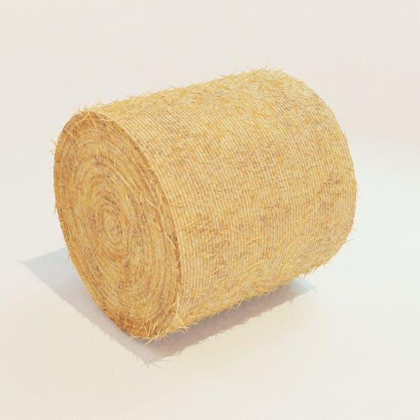 Hay Bale Round 3D Model