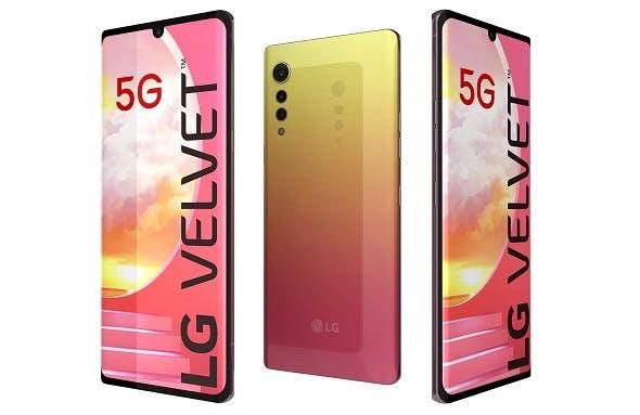 LG Velvet Illusion Sunset - 3DOcean Item for Sale