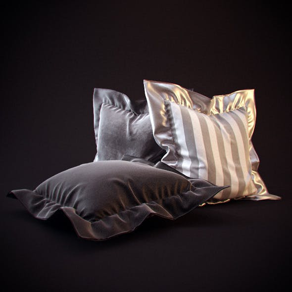 25 Realistic flanged Pillows