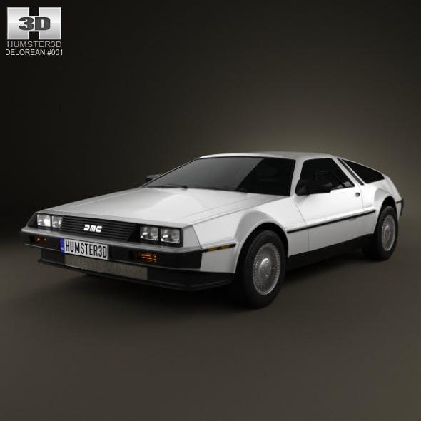 DeLorean DMC-12 1981 - 3DOcean Item for Sale