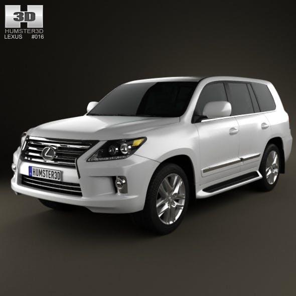 Lexus LX 2013 - 3DOcean Item for Sale