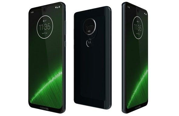 Motorola Moto G7 Plus Blue - 3DOcean Item for Sale