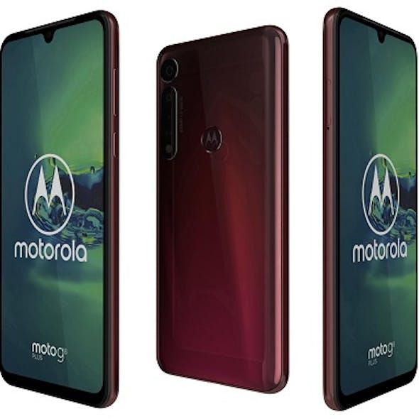 Motorola Moto G8 Plus Dark Red