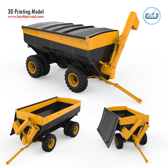 Agricultural trailer charger 3D Printing Model