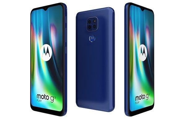 Motorola Moto G9 Play Sapphire Blue - 3DOcean Item for Sale