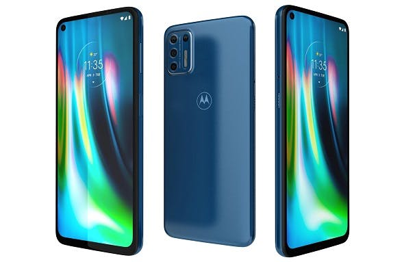 Motorola Moto G9 Plus Blue - 3DOcean Item for Sale