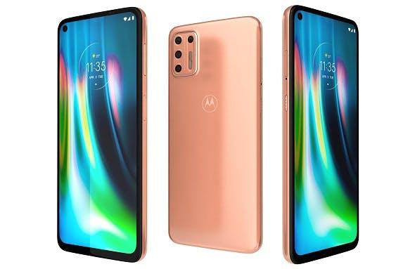 Motorola Moto G9 Plus Copper - 3DOcean Item for Sale