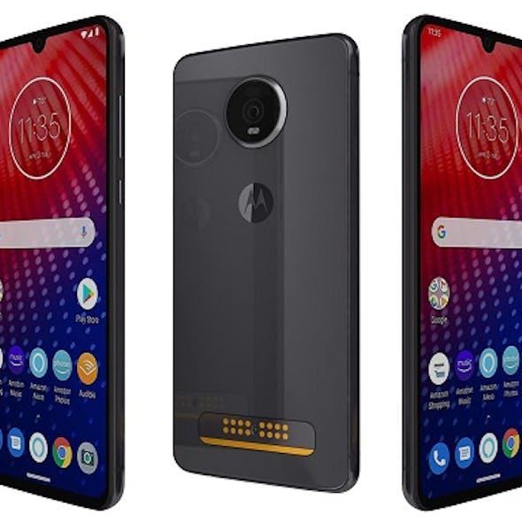 Motorola Moto Z4 Flash Grey