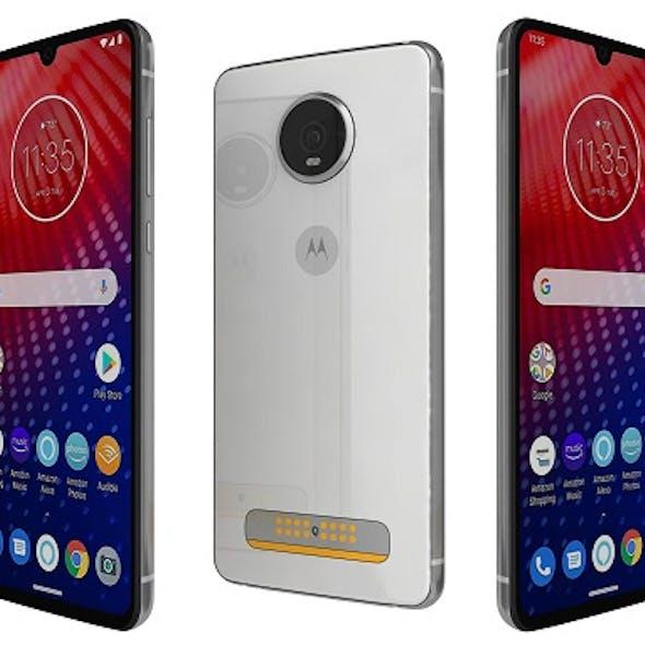 Motorola Moto Z4 Frost White
