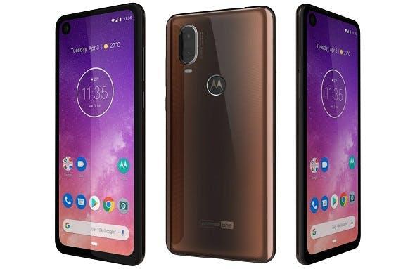 Motorola One Vision Bronze gradient - 3DOcean Item for Sale
