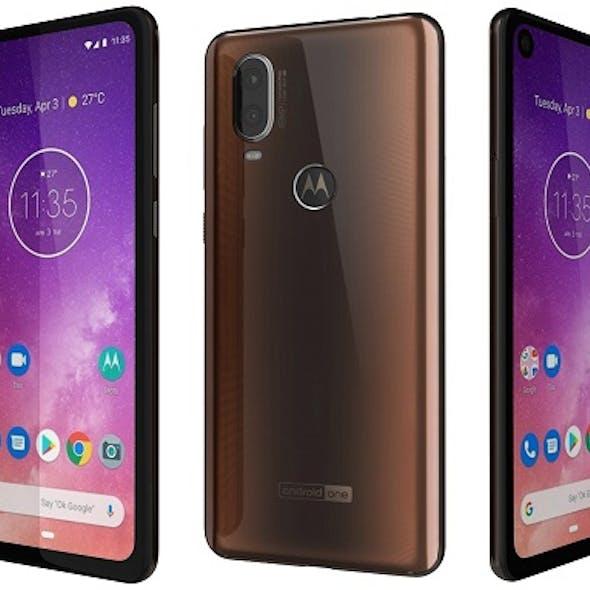 Motorola One Vision Bronze gradient