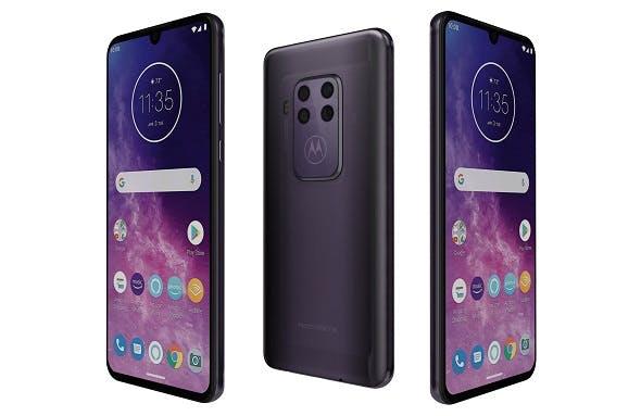 Motorola One Zoom Cosmic Purple - 3DOcean Item for Sale
