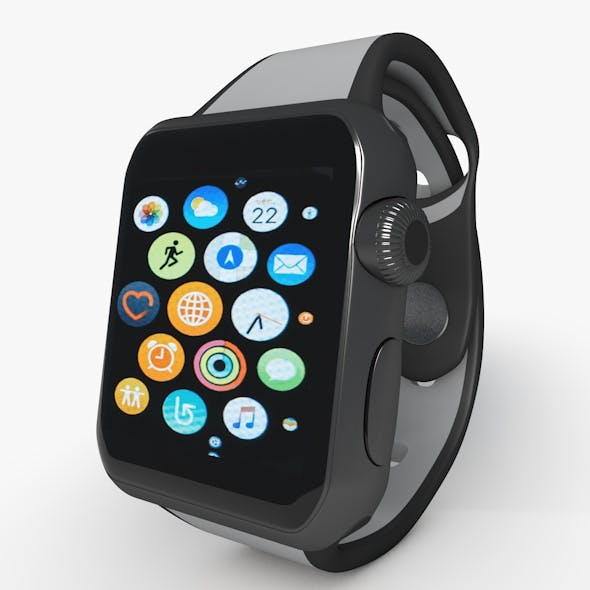 Apple Watch Series 3 Low Poly