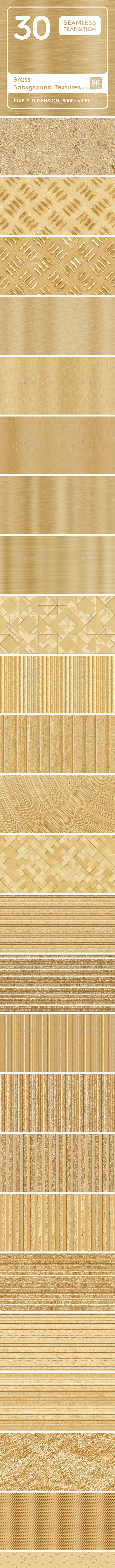 30 Brass Background Texture - 3DOcean Item for Sale