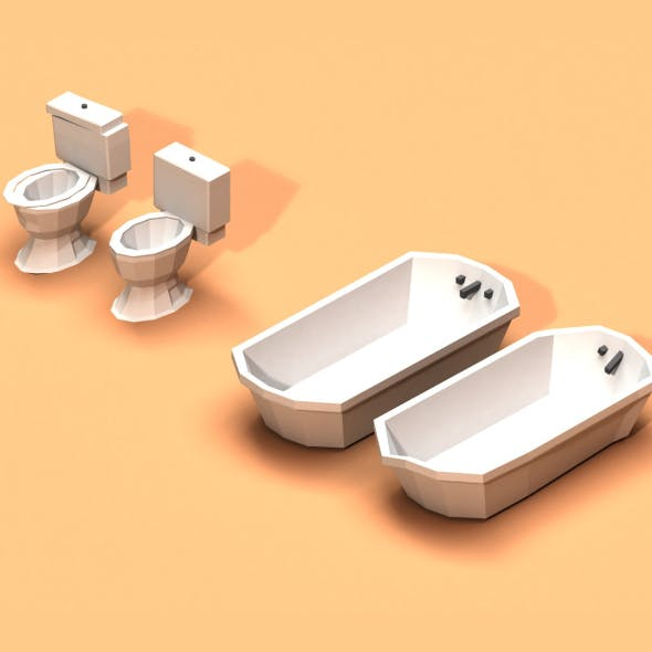 Post Apocalyptic Toilet and Bath