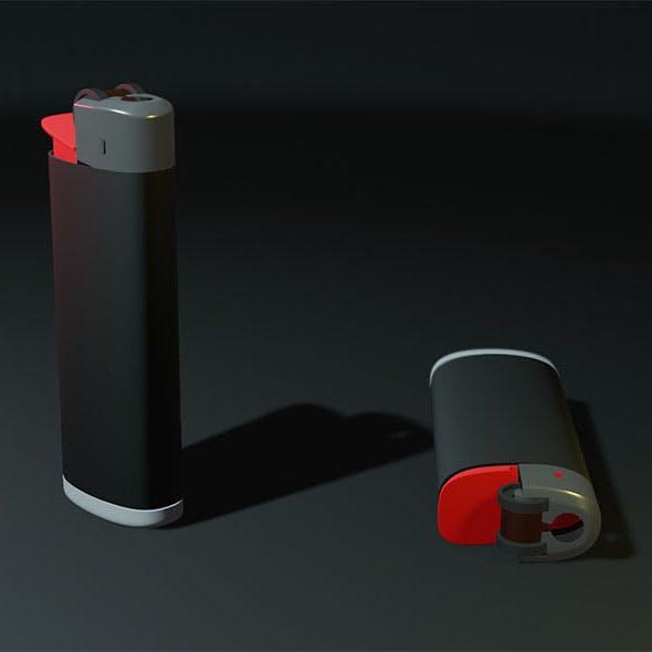 Black flint lighter