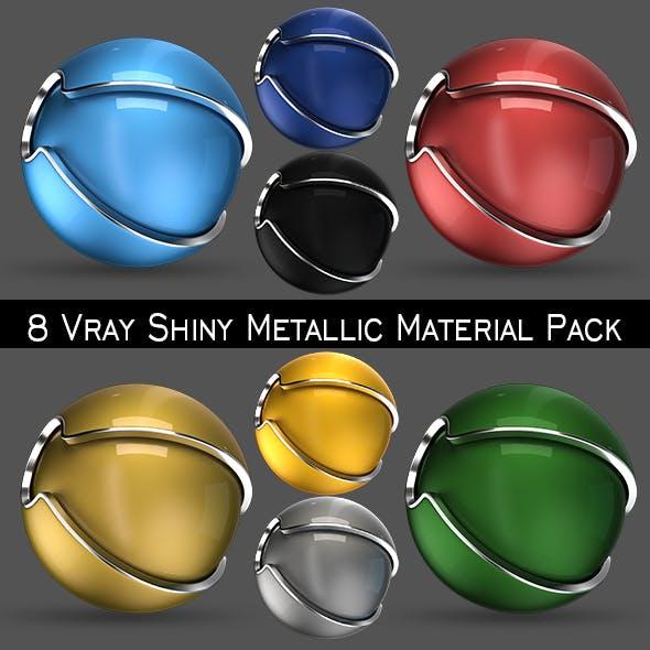 Shiny Metallic Material Pack