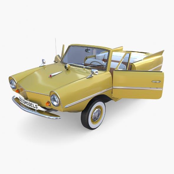 Generic 60s Amphibious Car - 3DOcean Item for Sale