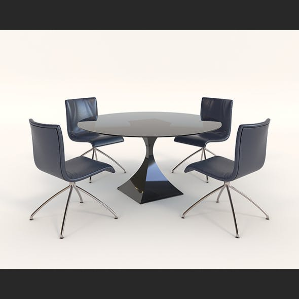 Contemporary Design Armchair Set 12