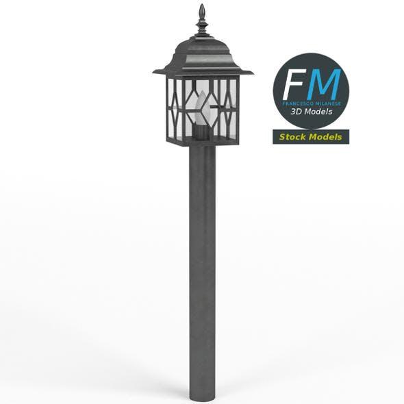 Garden lamp - 3DOcean Item for Sale