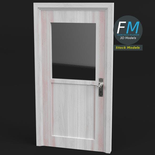 Half glass door - 3DOcean Item for Sale