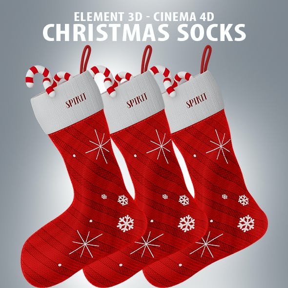 Christmas Socks with Candy