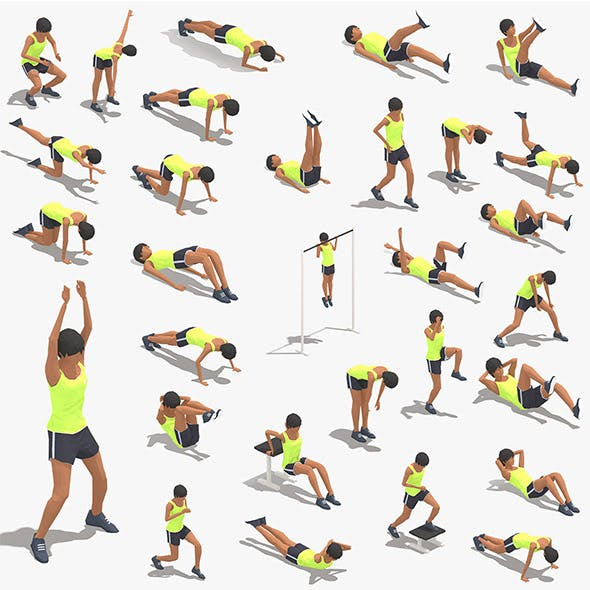 30 Woman Exercise Pack