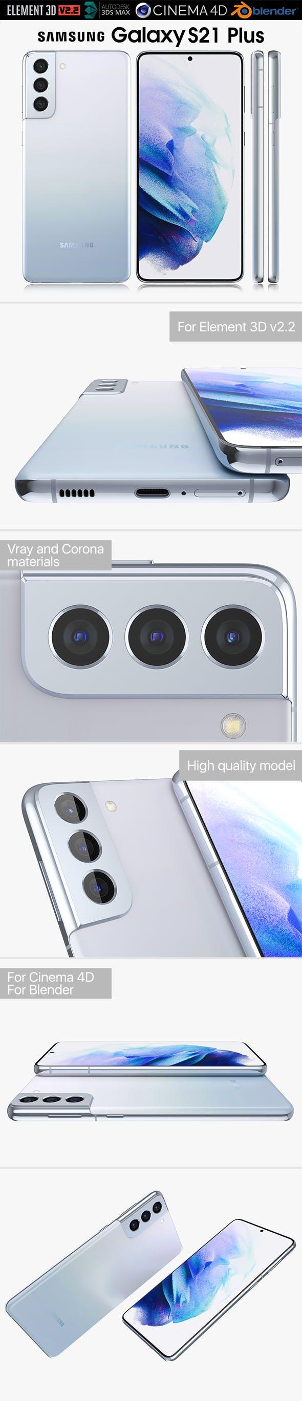 Samsung Galaxy S21 Plus - 3DOcean Item for Sale
