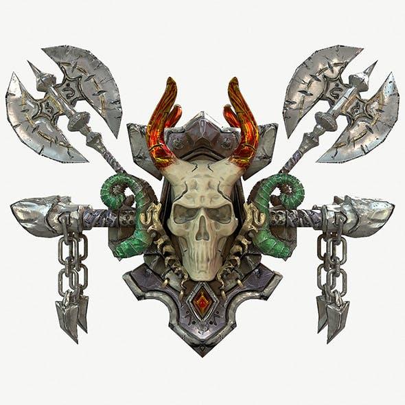 Coat of arms 3d model